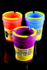 Multicolor Butt Bucket Extinguishing Ashtray - M0276