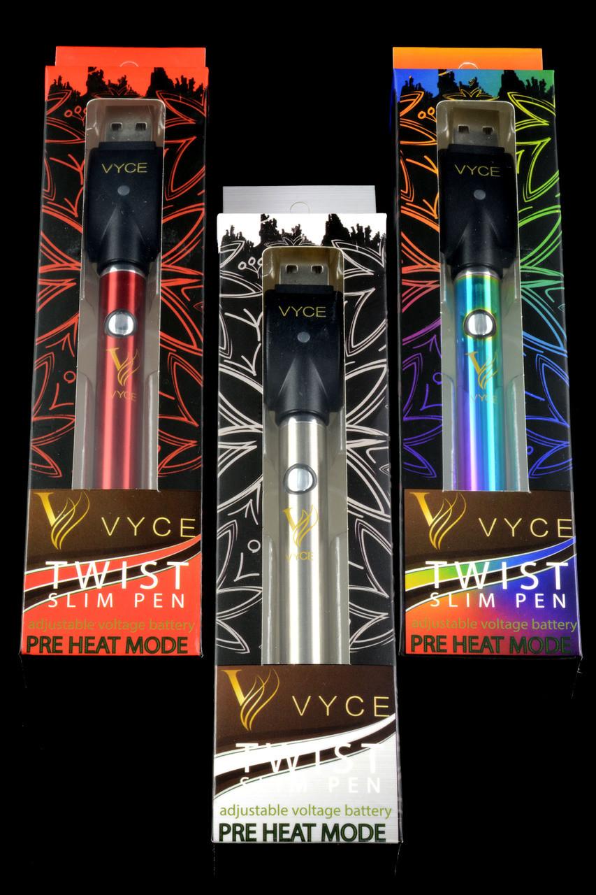 Vyce Twist Slim 320mAh Adjustable Voltage Battery Charger Kit - V0390