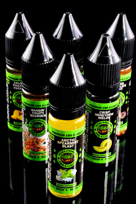 250mg 16.5ml CBD Flavored E-Liquid - CBD225