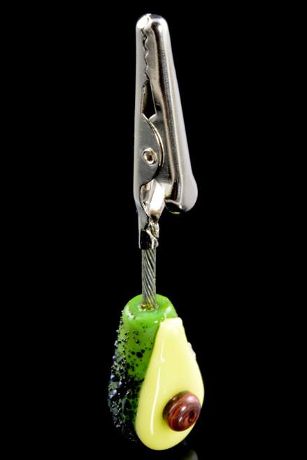 (US Made) Avocado Alligator Clip - M0301