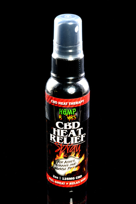 2oz CBD Heat Relief Spray - CBD233