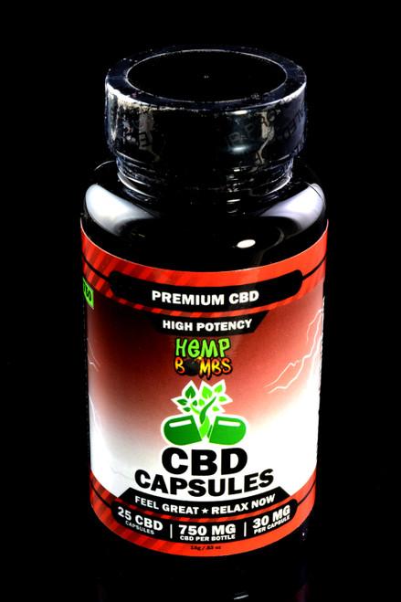 25 Count High Potency CBD Capsules - CBD238