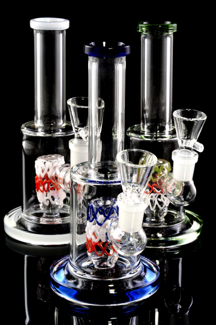 Small Stemless GoG Straight Shooter Water Pipe - WP2011
