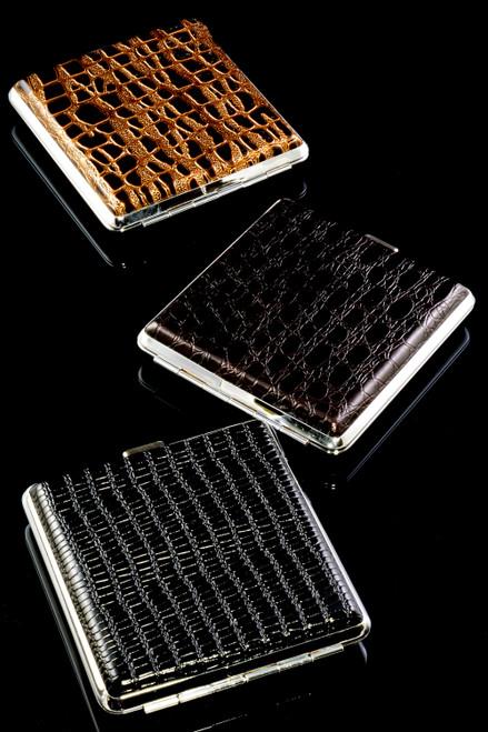 Faux Leather Cigarette Case - M0327
