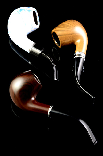 (Mix) Classic Wood Pipe - W0224
