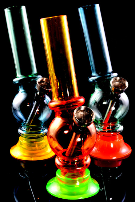 """(Mix) 6"""" Multicolor Acrylic Water Pipe - WP2145"""