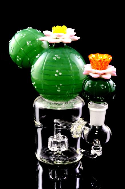 (US Made) Peyote Flower Mini Rig - WP2180