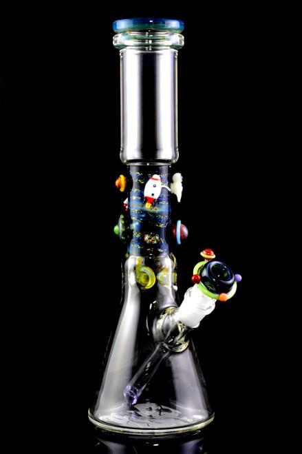 Wholesale top shelf glass beaker bongs for head shop resale.
