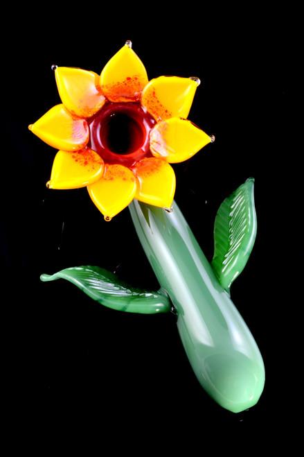 Wholesale Empire Glassworks sun flower pipes for resale.