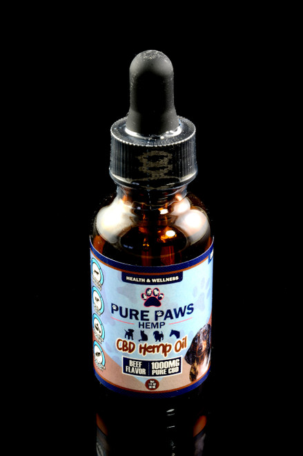(Expires Soon) 1000mg Pet Hemp Oil - CBD216EXP