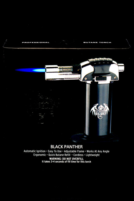 Special Blue Black Panther Torch Lighter - L0234