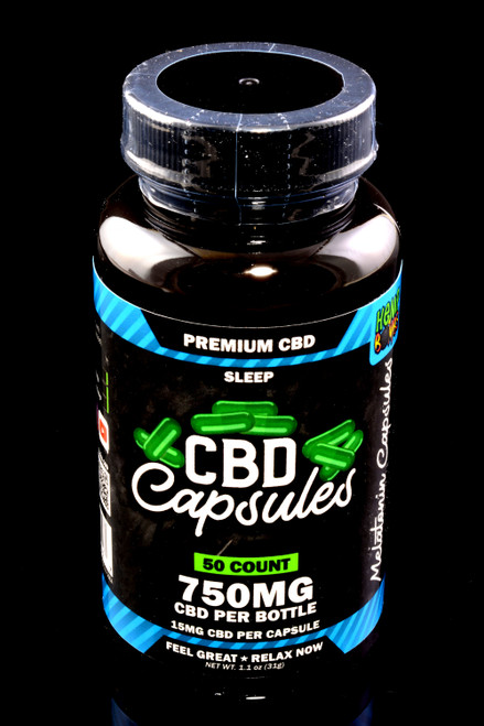 50 Count CBD Sleep Capsules - CBD271