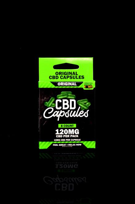 8 Count CBD Capsules - CBD273