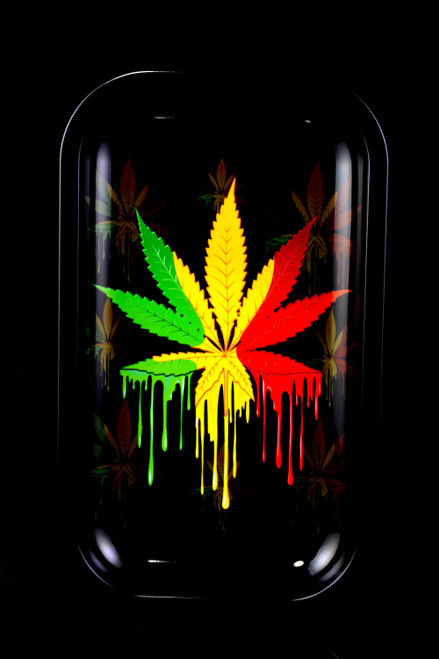 Medium Art Metal Rolling Tray - RP297