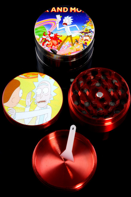 50mm 3 Part Colored Aluminum R&M Decal Grinder - G0396