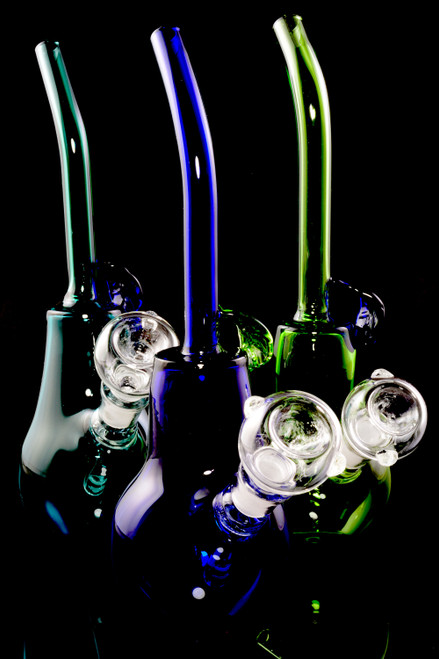 Small Stemless Colored GoG Vase Water Pipe - WP2338