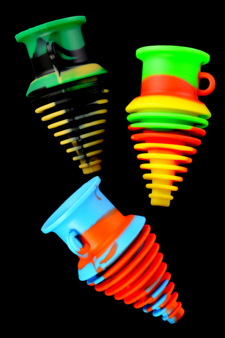 Colorful Silicone Water Pipe Mouthpiece - M0341