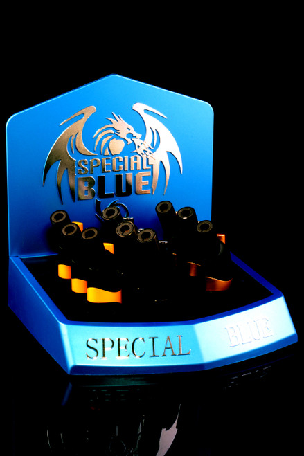 9 Pc Special Blue Rock Steady Torch Lighter Display - L0248