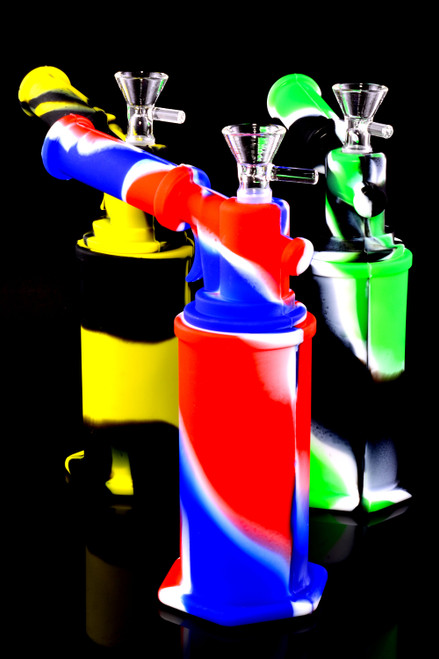 Colorful Silicone Torch Water Pipe - WP2352