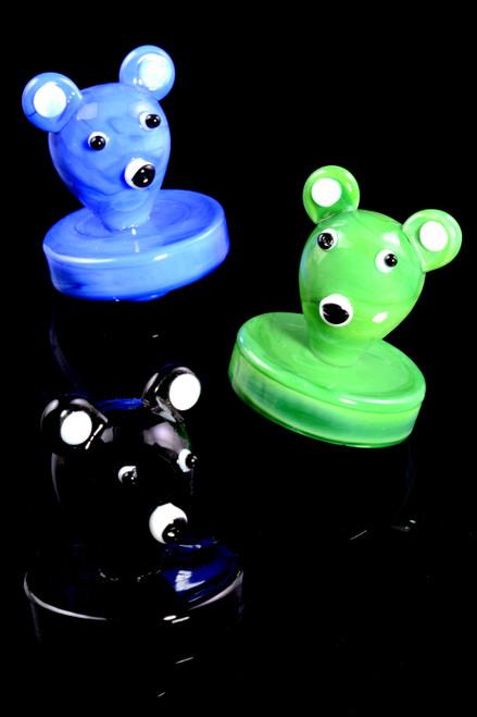 Glass Koala Bear Carb Cap - BS713