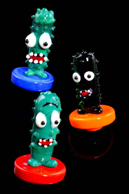 Glass Pickle Carb Cap - BS714