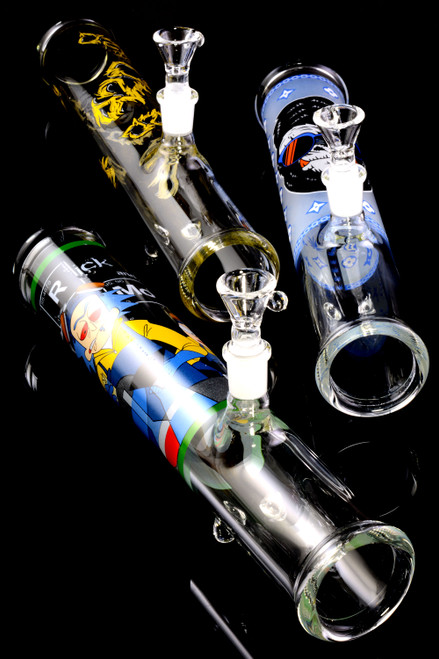 (US Made) Large Glass on Glass Decal Steam Roller - P2361