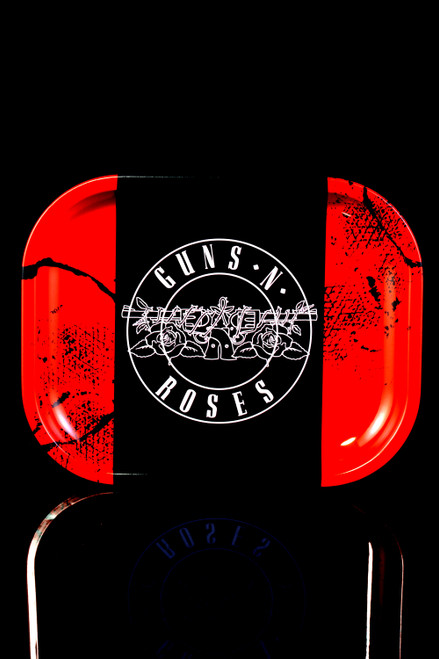 Guns N Roses Double Pistols Metal Rolling Tray - RP303