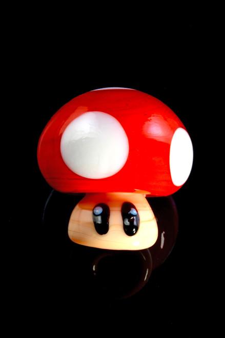 Glass Mushroom Carb Cap - BS722