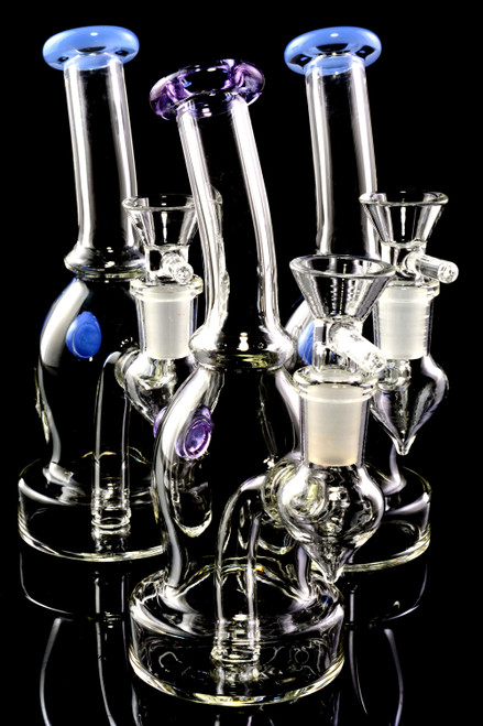 Wholesale inexpensive glass water pipes for head shop resale.