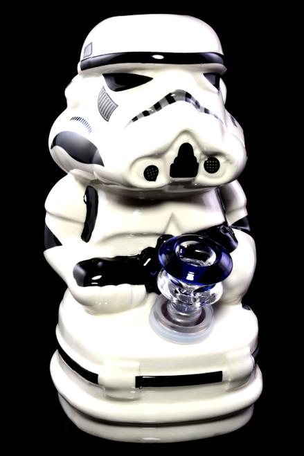 Wholesale Star Wars Storm Trooper ceramic water pipe.