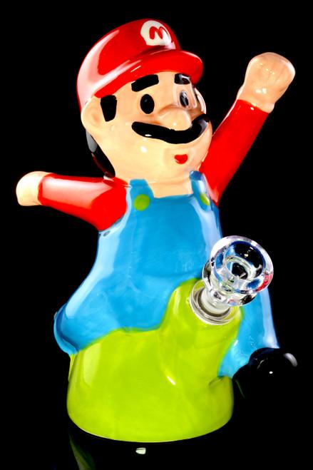 Wholesale ceramic Super Mario Bros Mario water pipe.