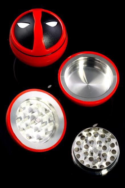 Deadpool wholesale grinders for smoke shop resale.