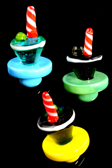 Bulk wax caps for head shop resale.