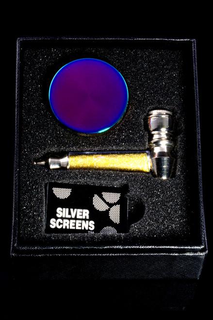Metal Pipe Gift Box Set - M0355