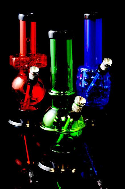"(US Made) 6"" Mini Acrylic Water Pipe - WP153"