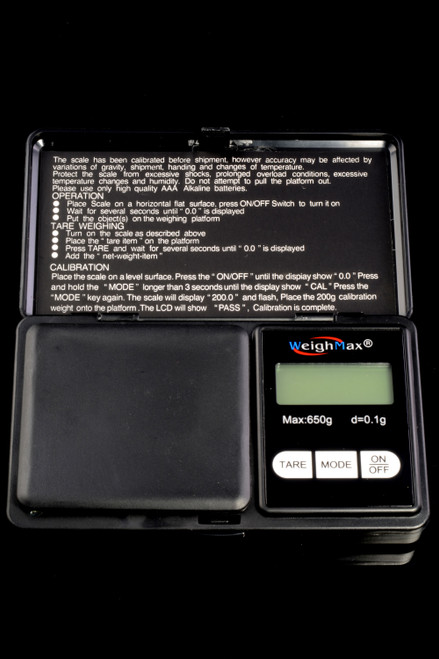 WeighMax Digital Folding Scale - DS122