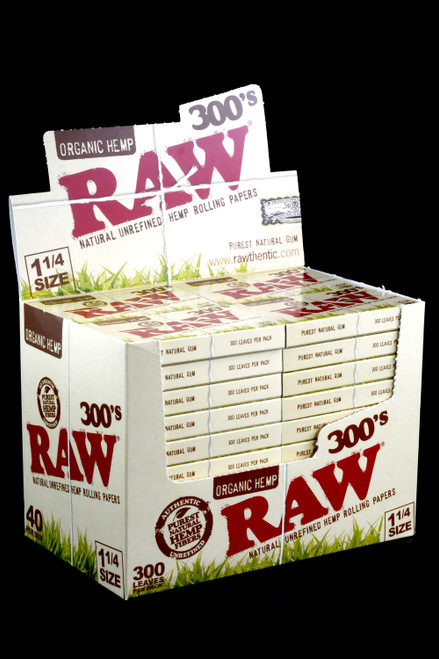 Raw 300's Rolling Papers Organic 1 1/4 - RP150
