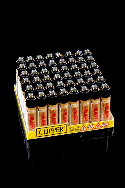 Raw Mini Clipper Lighter (48pc Display) - L0122