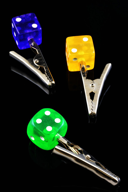 Dice Alligator Clip - M0202