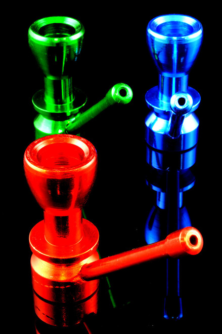 Mini Painted Sherlock Metal Pipe - MP168