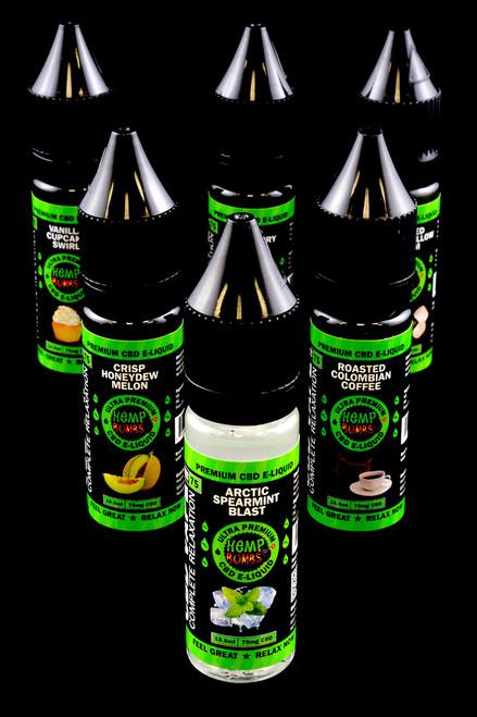 75mg 16.5ml CBD Flavored E-Liquid - CBD106