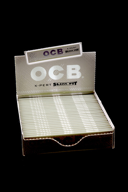 OCB Premium X-Pert King Size Slim Rolling Papers - RP210