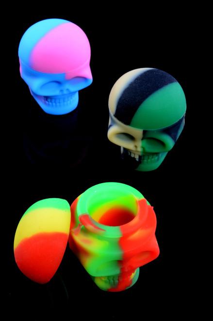 3ml Silicone Skull Jar - J0160
