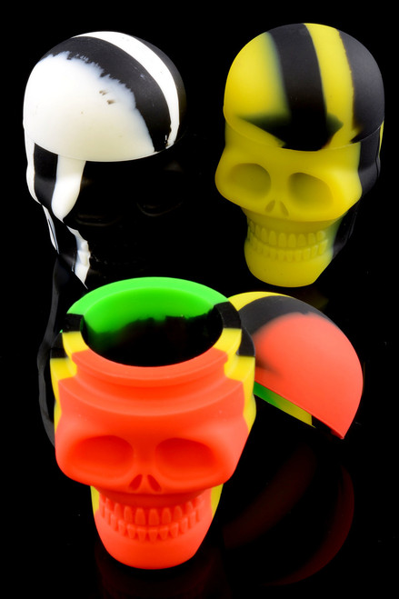 Wholesale silicone dab jars for resale.