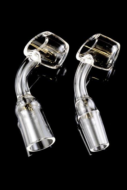 45 Degree Domeless Quartz Banger Nail (4mm Thickness) - BS517
