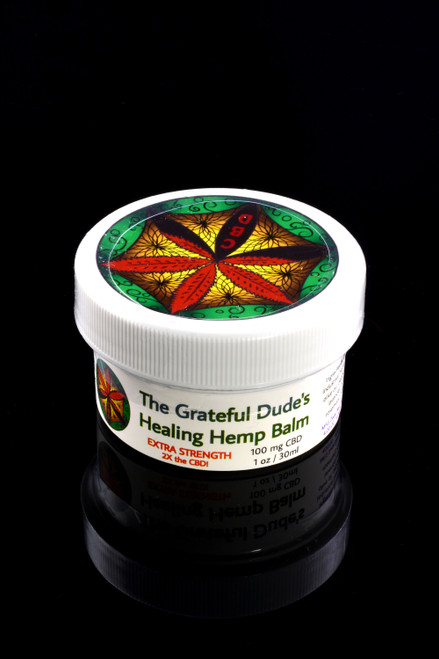 1oz Grateful Dude's Healing Hemp Balm - CBD137