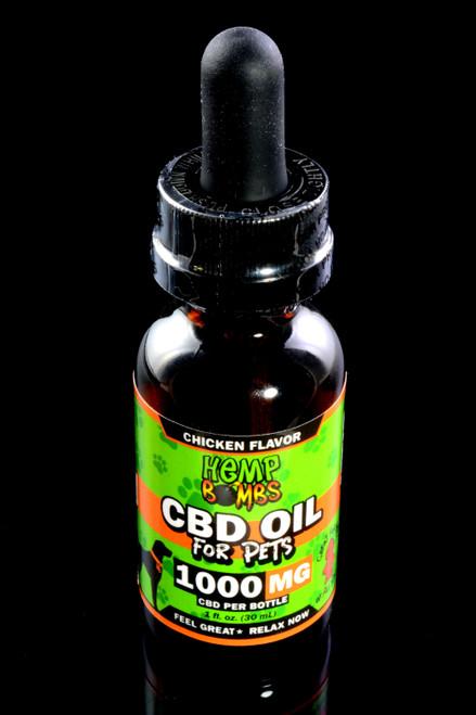 Pet CBD Oil 1000mg - CBD144