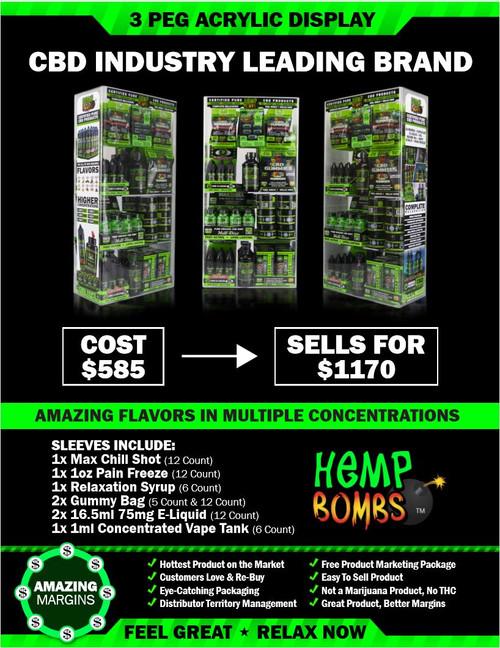 Hemp Bombs CBD Starter Package - SPS118