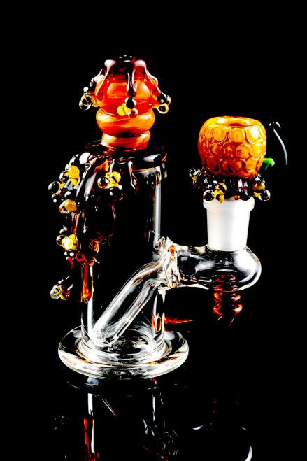 Wholesale glass mini rig from Empire Glassworks in bulk.