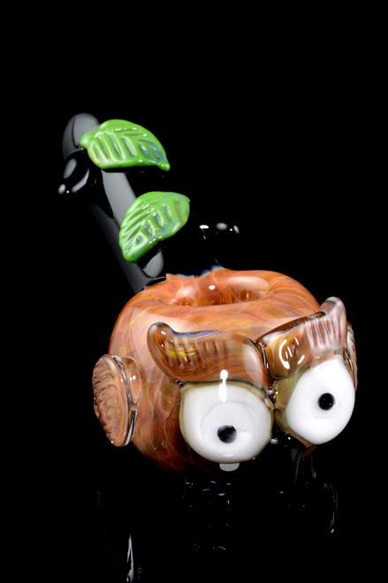 Bulk Empire Glassworks owl pipes.